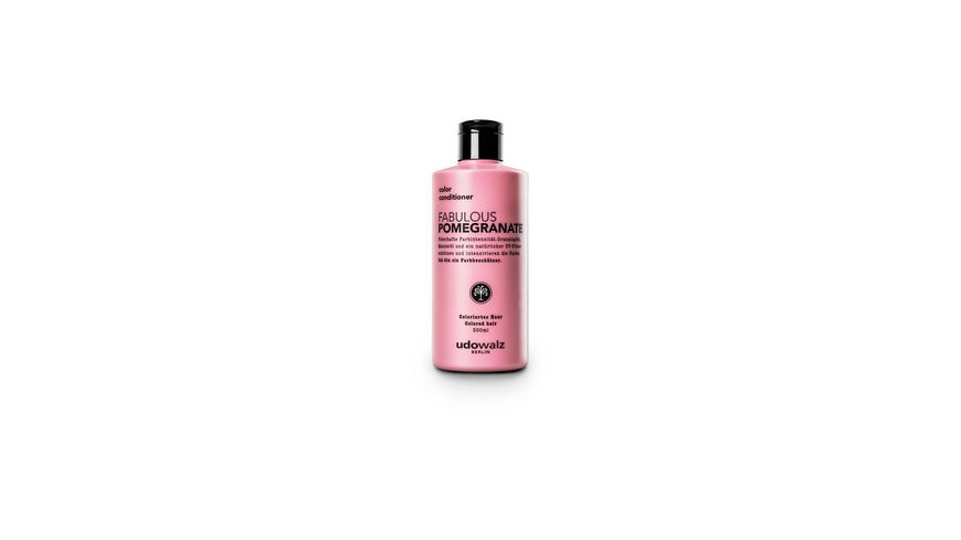Udo Walz Pomegranate Conditioner