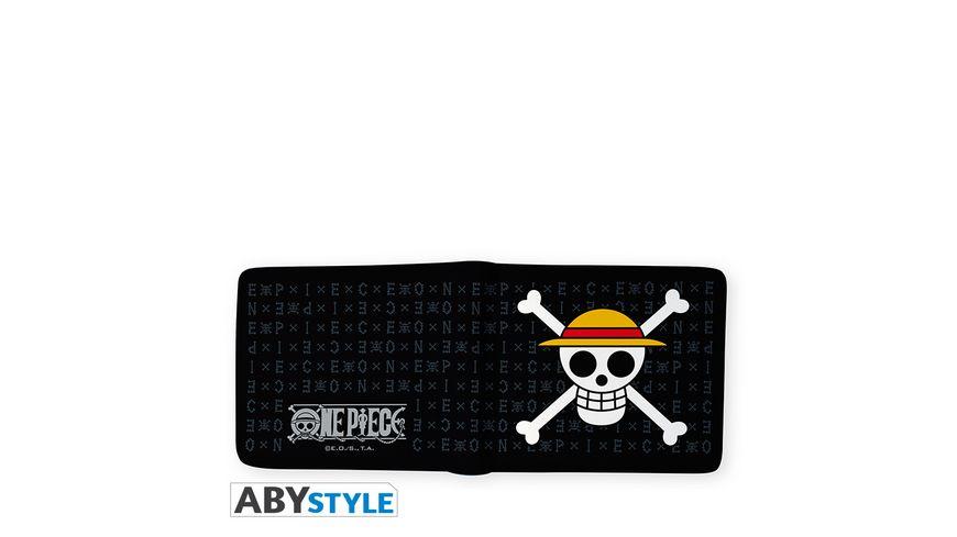 One Piece Skull Luffy Geldbeutel