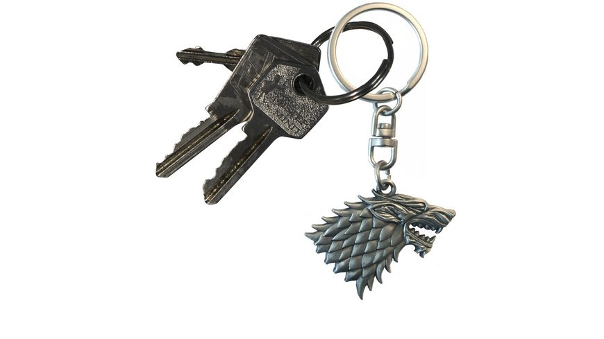 Game of Thrones Stark 3D Schluesselanhaenger