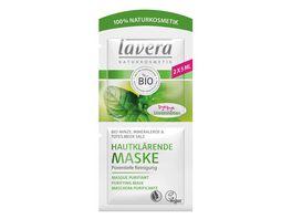 lavera Hautklaerende Maske