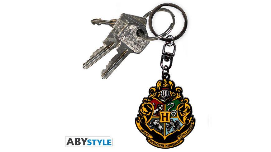 Harry Potter Hogwarts Metall Schluesselanhaenger