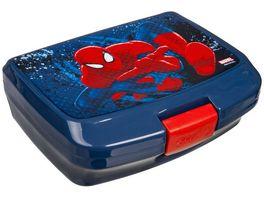 Undercover Marvel Spider Man Brotzeitdose