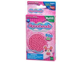Aquabeads Refill Perlen pink 600 Stueck
