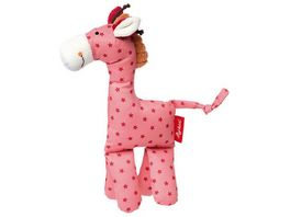 sigikid Kuschelfigur Giraffe pink 22 cm