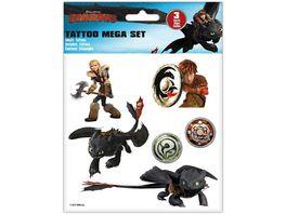 CRAZE Dragons Tattoo Mega Set