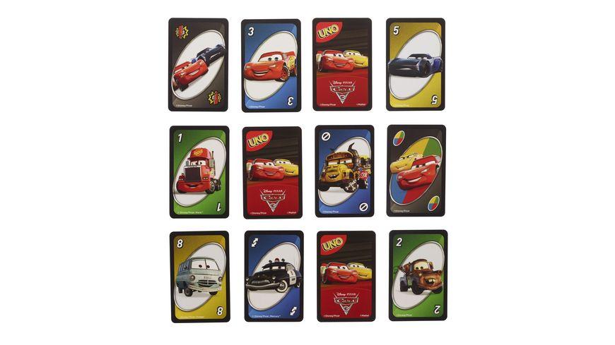 Mattel Games UNO Cars