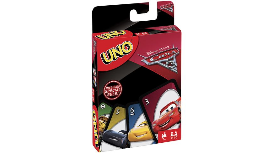 Mattel Games UNO Cars
