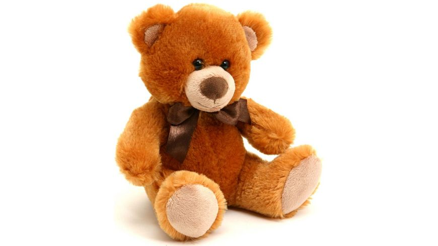 Sunkid Teddy Baer hellbraun sitzend 22 cm