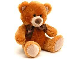 Sunkid Teddy Baer hellbraun sitzend 25 cm
