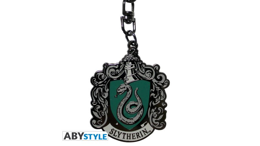 Harry Potter Slytherin Metall Schluesselanhaenger