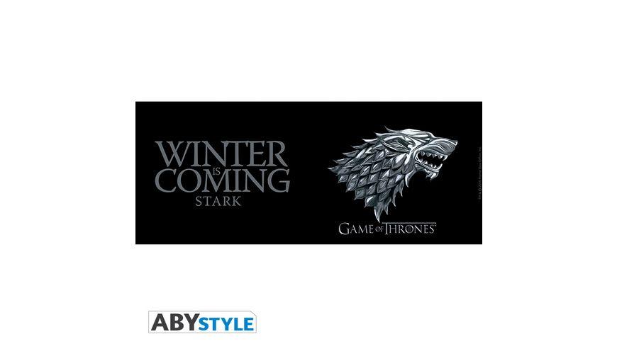 Game of Thrones Stark Winter is coming Tasse 460 ml