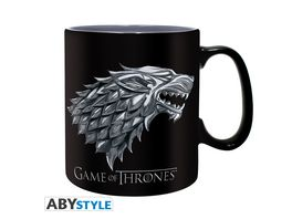 Game of Thrones Stark Winter is coming Tasse 460 ml