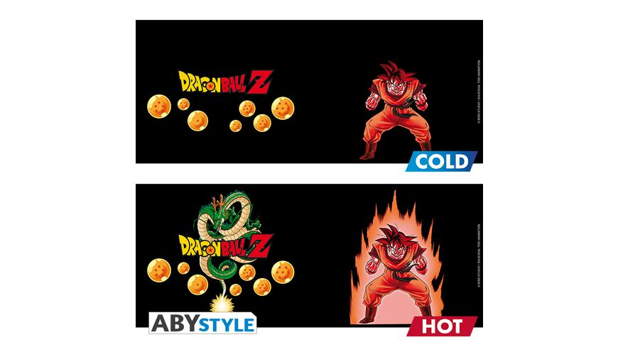 Dragon Ball Goku Thermoeffekt Tasse