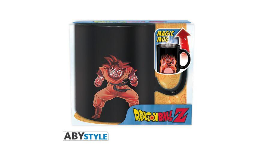 Dragon Ball Z Goku Thermoeffekttasse 460ml
