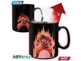 Dragon Ball Goku Thermoeffekt Tasse