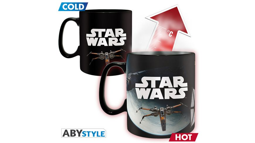 Star Wars Space Battle Thermoeffekt Tasse