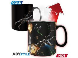Star Wars Spacebattle Thermoeffekttasse 460 ml