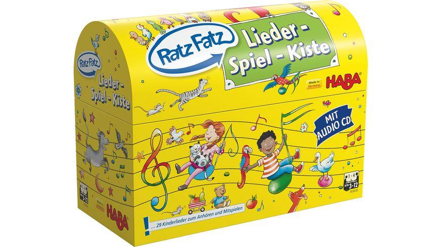 HABA Ratz Fatz Lieder Spiel Kiste