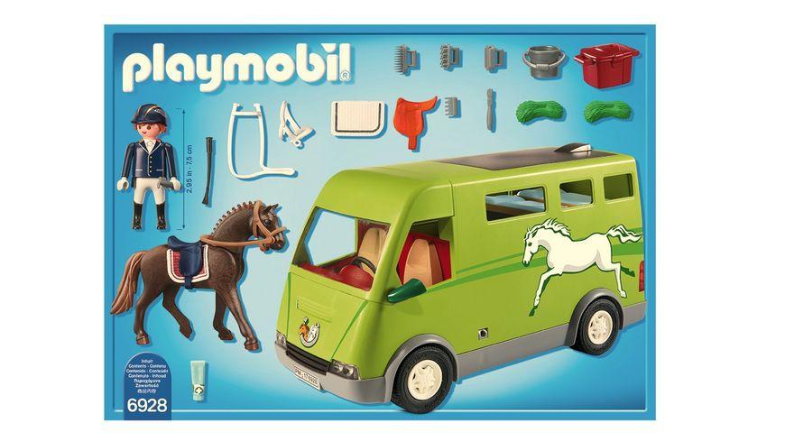 PLAYMOBIL 6928 Country Pferdetransporter