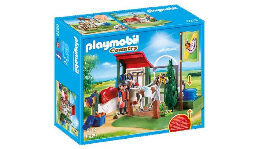 playmobil 6929 country pferdewaschplatz online bestellen m ller. Black Bedroom Furniture Sets. Home Design Ideas