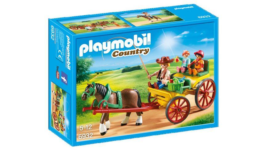 PLAYMOBIL 6932 Country Pferdekutsche