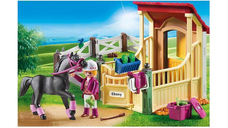 PLAYMOBIL 6934 Country Pferdebox Araber
