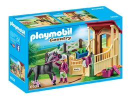 PLAYMOBIL 6934 Country Pferdebox Araber