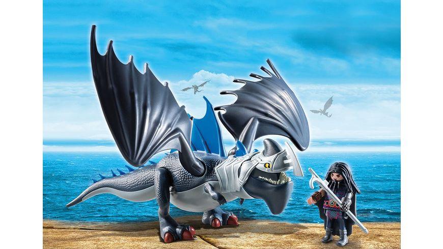PLAYMOBIL 9248 Dragons Drago mit Donnerklaue