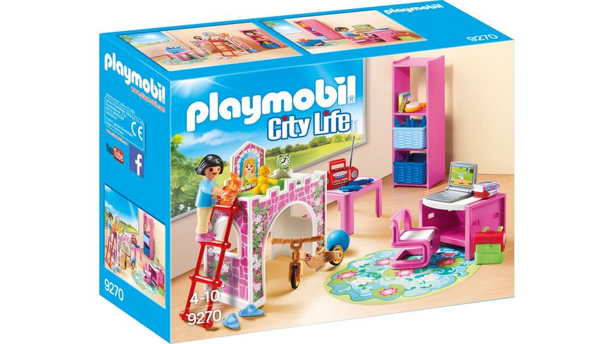 PLAYMOBIL 9270 City Life Froehliches Kinderzimmer