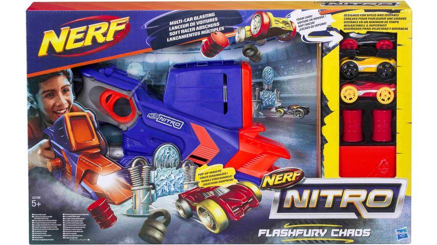 Hasbro Nerf Nitro Flashfury Chaos Set