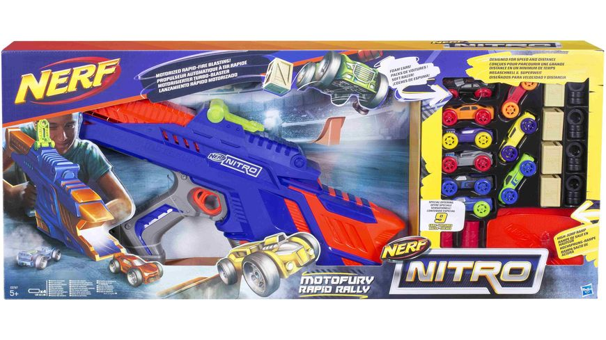 Hasbro Nerf Nitro Motofury Rapid Rally Set