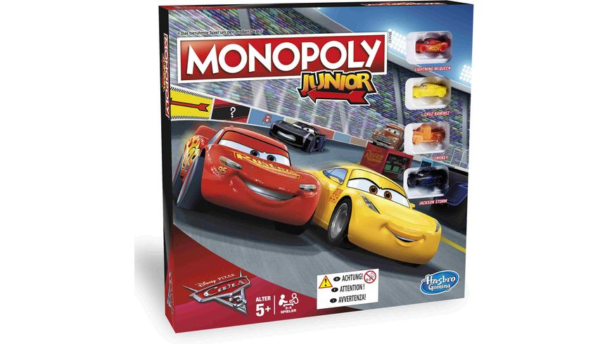 Hasbro Cars Monopoly Junior