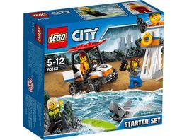 LEGO City Kuestenwache 60163 Kuestenwache Starter Set
