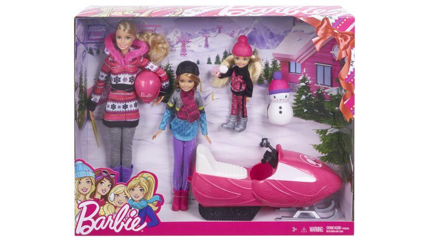 Mattel Barbie Schwestern Winter Geschenkset