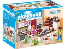 PLAYMOBIL 9269 City Life Grosse Familienkueche