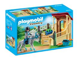 PLAYMOBIL 6935 Country Pferdebox Appaloosa
