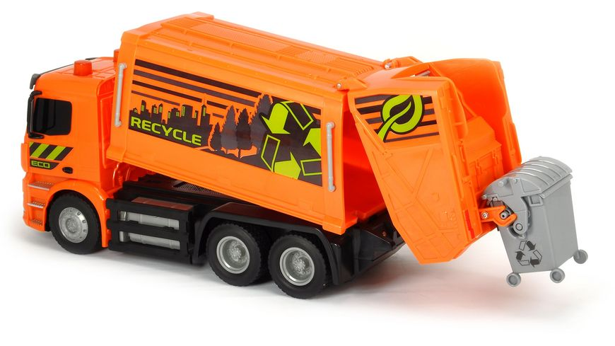 Dickie RC Mercedes Benz Antos Garbage Truck RTR