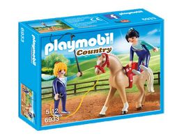 PLAYMOBIL 6933 Country Voltigier Training