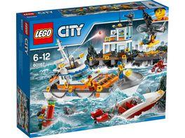 LEGO City Kuestenwache 60167 Kuestenwachzentrum