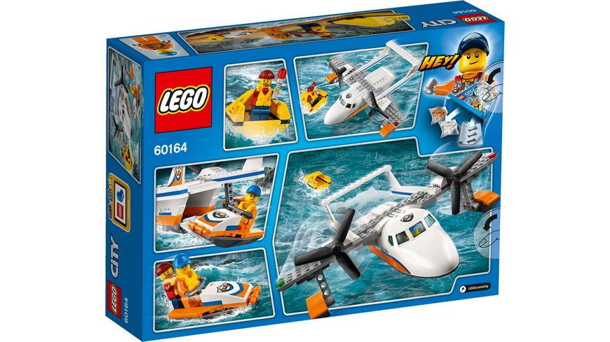 LEGO City Kuestenwache 60164 Rettungsflugzeug