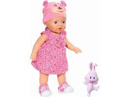 Zapf Creation my little Baby Born Puppe My Little Baby born Walks