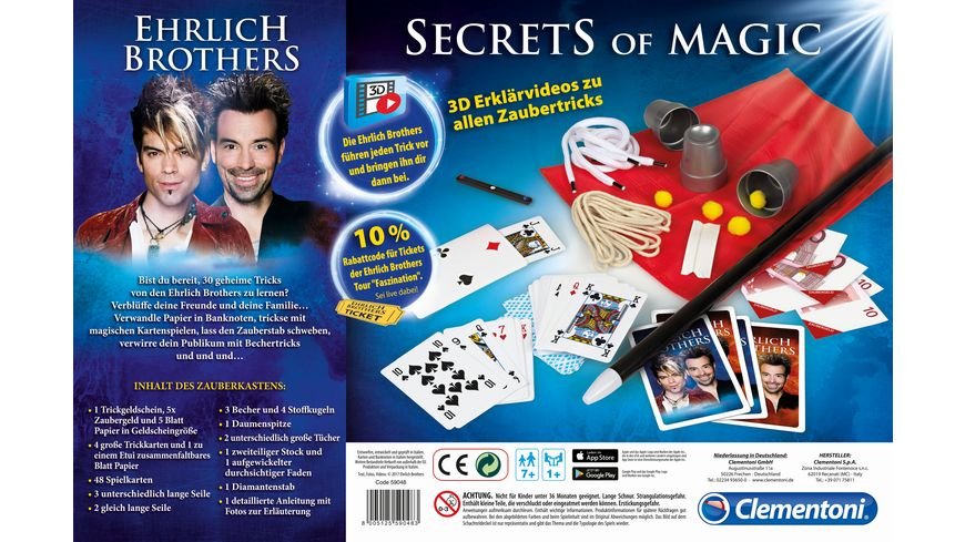 Clementoni Secrets of Magic