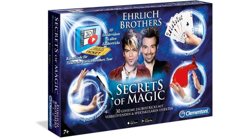 Clementoni Ehrlich Brothers Secrets of Magic