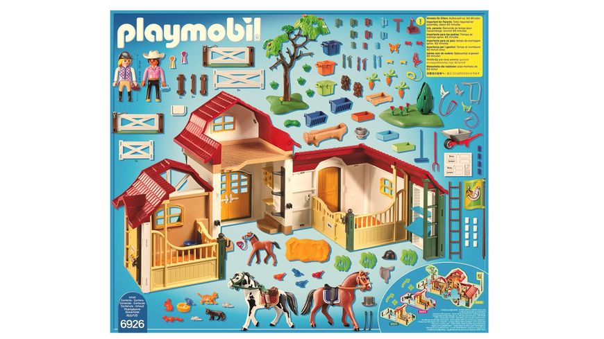 PLAYMOBIL 6926 Country Grosser Reiterhof