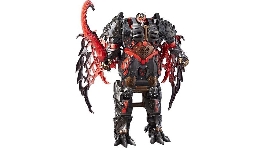 Hasbro Transformers Movie 5 Mega Turbo Changer Dragonstorm