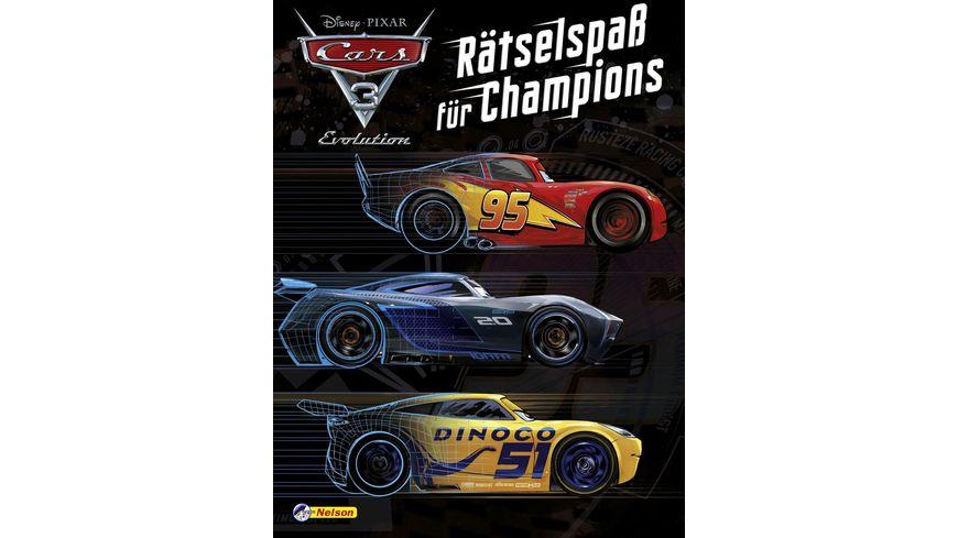 Nelson Verlag Disney Cars 3 Raetselspass fuer Champions