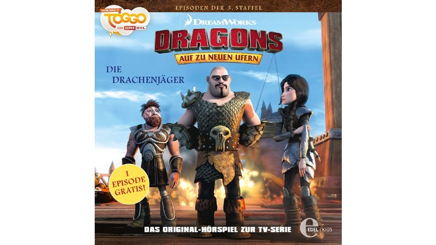 27 Hoerspiel z TV Serie Die Drachenjaeger