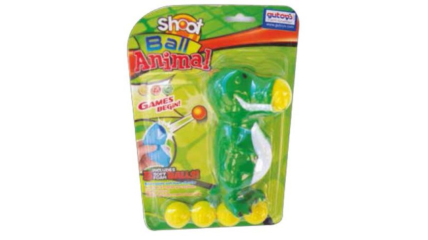 Gutoys Soft Ball Tier Shooter sortiert