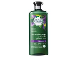 Herbal Essences Shampoo pure renew Lightweigt Shine Gurke Gruener Tee