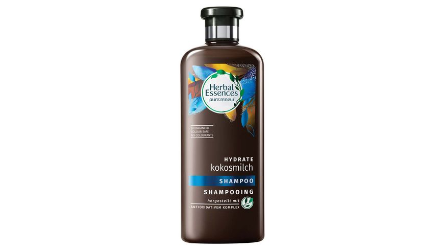 Herbal Essences Shampoo pure renew Hydrate Kokosmilch